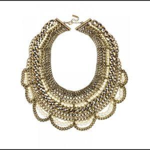 BNWT Bauble Bar Bib Necklace